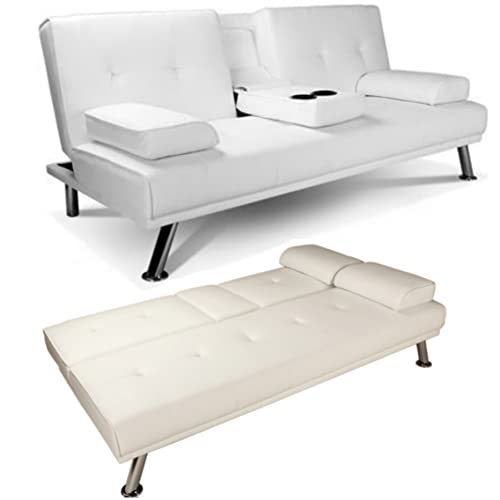 new style 1d599 e0177 Sofa Bed White: Amazon.co.uk