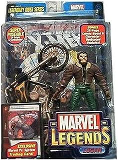 Marvel Legends - Legendary Riders Figure: Logan (Brown Jack with Green Pants)
