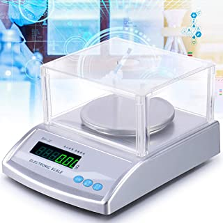 Digital Scale .01 Gram Accuracy Lab, 300g/600g/1Kg/2Kg/3Kg/0.01g Gram Scale Weighs Grams, Ounces, Pounds, Carats | High Ac...