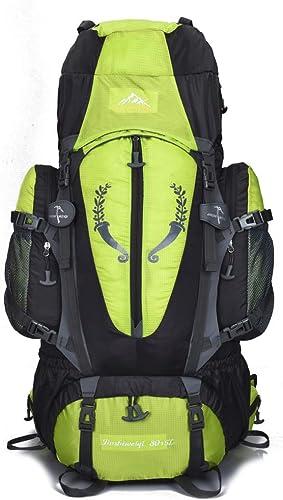 Yuany Alpinisme Sac Grande Capacité Nylon Imperméable Porter Voyage Randonnée Sac Hommes Et Femmes Voyage Randonnée Spécial De Pêche Sac à Dos équipement