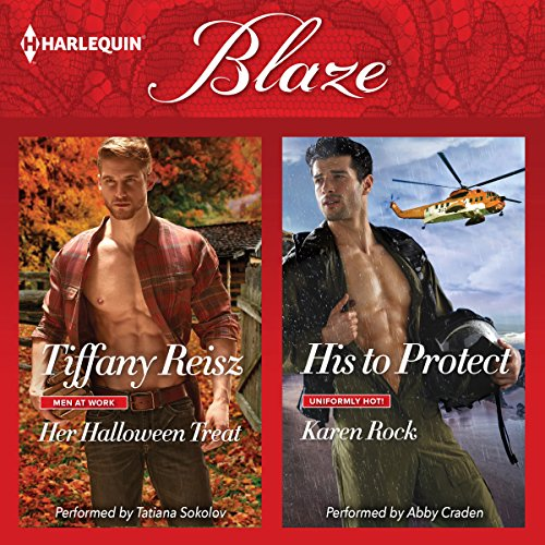 Her Halloween Treat & His to Protect audiobook cover art