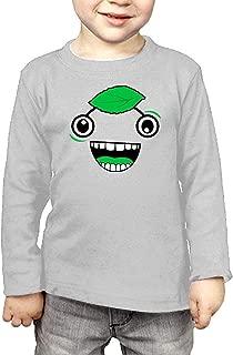 Top de Manga Larga Guava Juice Face Children's Personalized Long-Sleeved T Shirts Cotton Round Collar Shirt
