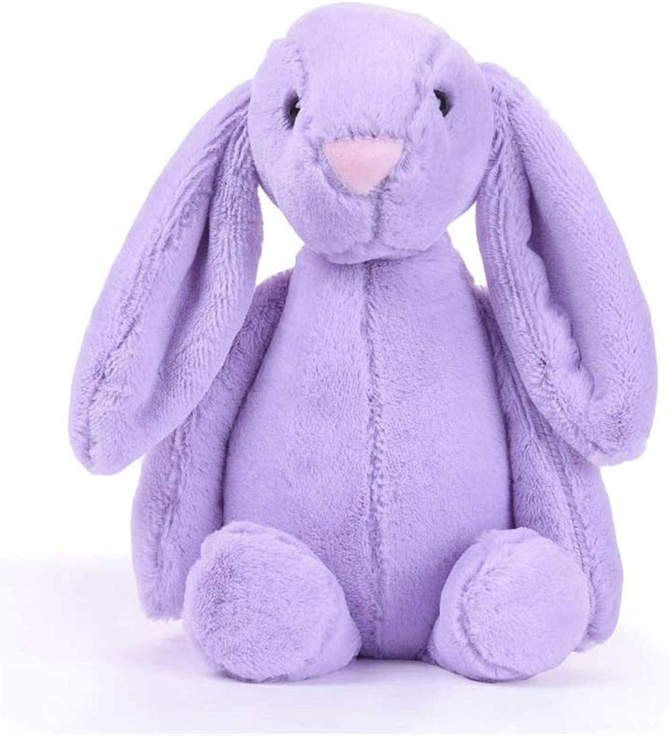 Bonnie Rabbit Plush Toy,, Available in A Variety of colors, Soft Plush Fabric, Filled with Environmentally Friendly PP Cotton. ( color   Purple )