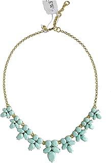 Factory Women's - Facet Statement Necklace (Turquoise Blue)