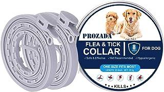 PROZADA [Nueva Fórmula] Collares Antiparasitario para Perros Impermeable, Garrapatas y Mosquitos, Tamaño Ajustable e Imper...