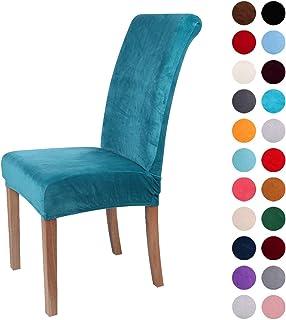 Fundas antideslizantes de terciopelo resistente para sillas