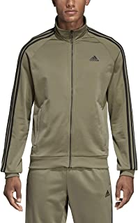Essentials 3S Tricot Track Jacket Men's All Sports XL Trace Cargo