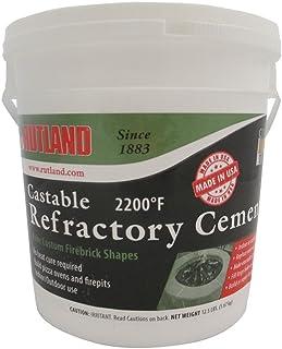 Rutland 600 Cemento Refractario de Castable 12, 1/2 LB
