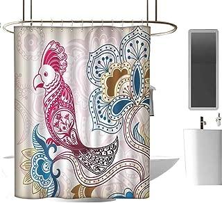Genhequnan Geometric Shower Curtain Extra Wide Shower Curtain Modern Bathroom Home Decor W108 x L70 Inch