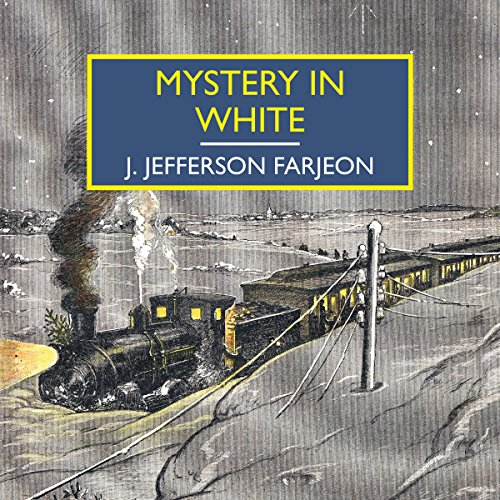 Mystery in White audiobook cover art