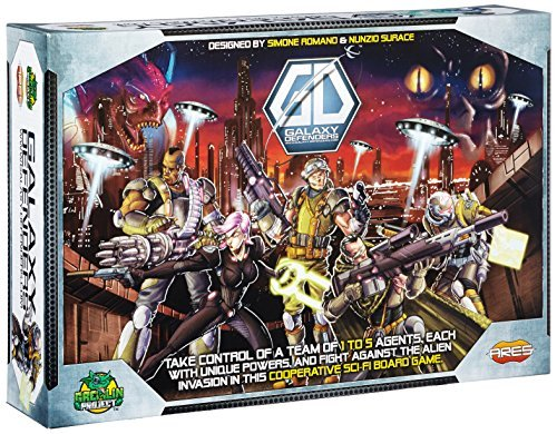 Galaxy Defenders Board Game by Ares Games