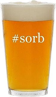 #sorb - Glass Hashtag 16oz Beer Pint