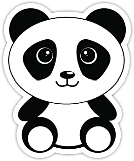 Panda Bear Sticker - Laptop Stickers - 3