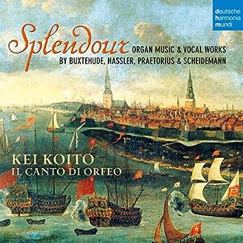 Splendour - Organ Music & Vocal Works by Buxtehude, Hassler, Praetorius & Scheidemann