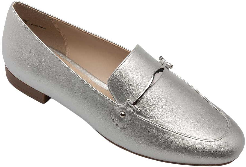 Pic  Pay Dinah Woherrar Loafer s - Classic Classic Classic Elegant Loafer silver Metallic PU 11M  mode varumärken