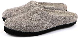 Sponsored Ad - Nootkas Men's Felted Merino Wool 'Astoria' Mule House Slipper