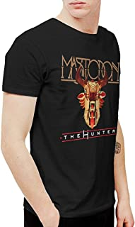 Mens Fashion Mastodon The Hunter Tee and Washed Denim Hat Casquette Black