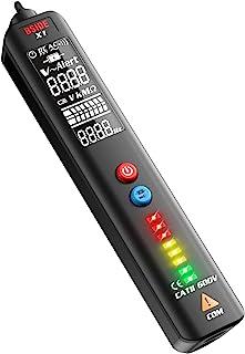 Bside Smart Voltage Tester Multimeter EBTN LCD Voltage Detector Non-contact AC Voltage Tester Pen with Adjustable Sensitiv...