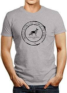 Idakoos German Shepherd Dog Wiggle Butts Club Stamp T-Shirt