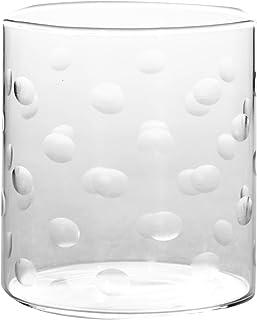 Borosil Vision Glasses Polka Set, 305ml, Set of 6