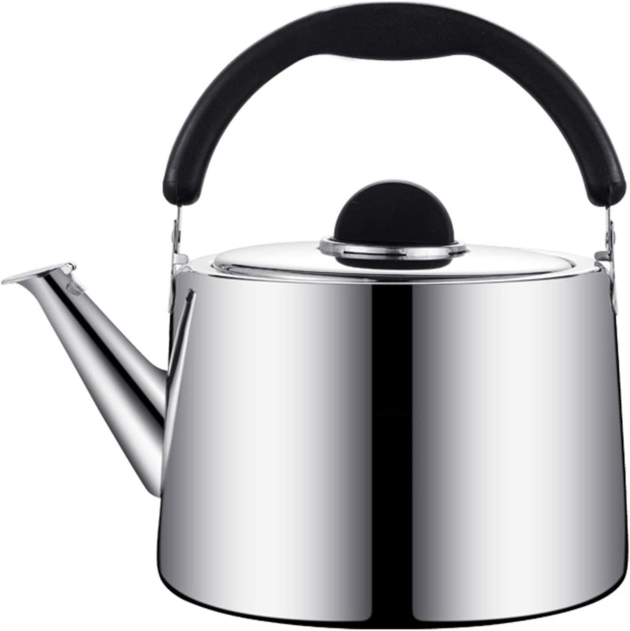 Limited time for free shipping Stove Tea Kettle-whistling Stainless Las Vegas Mall Kettle Steel Ergonomic