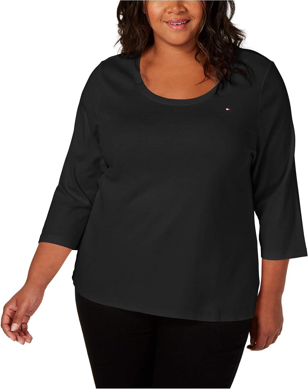 Tommy Hilfiger Womens Cotton Basic T-Shirt