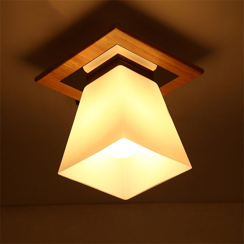XiuXiu Nordic Hall Eingang Decke Decke Gang Balkon Single-headed Glas LED kreative japanische Lampen