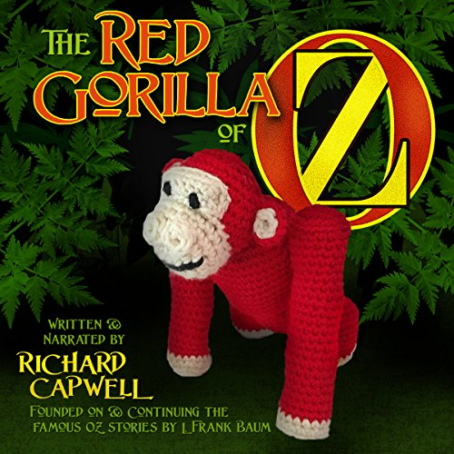 The Red Gorilla of Oz audiobook cover art