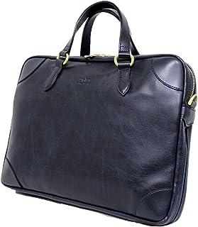 十川鞄 Brighton ブライトン アポロ 2way ビジネス ブリーフケース ショルダーバッグ A4 エキスパンダブル 日本製 ネイビー BAP-13020 NV