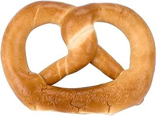 PretzelHaus Soft Individually Wrapped Bavarian Baked Pretzels. Never Frozen. Heat and Serve Soft Pretzels. Bonus Restaurant Gift. (UNSALTED, 25)