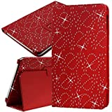 Seluxion - Funda universal para Archos 97C Platinum de 9,7', diseño troquelado, color rojo