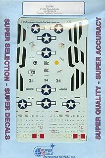 SuperScale Decals 1:72 P-47 N 19 FS/318 FG Honolulu Tina Moki Lovely Leo #72-744