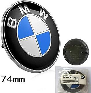 Rekkle Motor de Coche bot/ón Start Stop Ajuste de la Cubierta de Fibra de Carbono de la decoraci/ón de Accesorios para BMW Serie 3 E90 E92 E93 2005-2012
