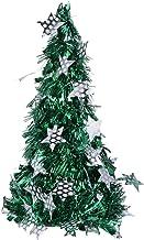 Amosfun Tabletop Christmas Tree Artificial Mini Xmas Pine Tree for Christmas Table Decoration (Green with Star)