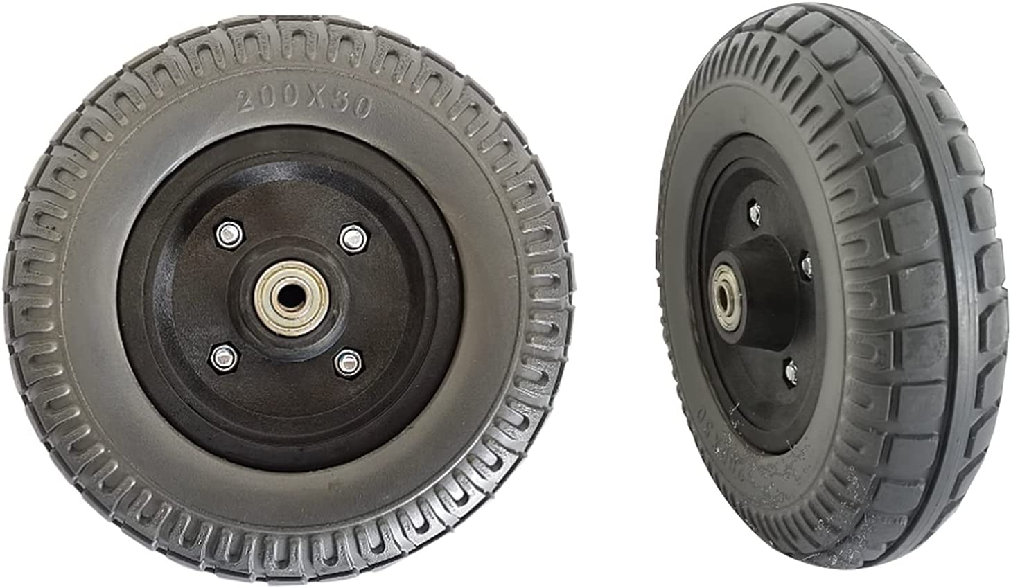 8-inch Electric Wheelchair Tires Rubber New item Wear-Resistant Challenge the lowest price of Japan Solid Ti