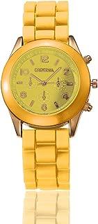 RMM Popular Silicone Quartz Men Women Girl Boy Unisex Jelly Wrist Watch