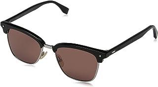 FENDI - FF M0003/S 4S 807 52 Gafas de sol, Negro (Black/Pink Pink), Hombre