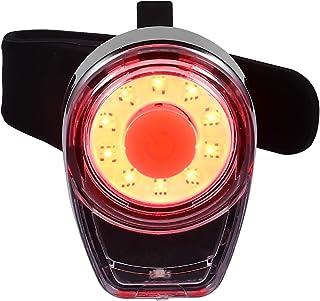 IMIKEYA USB Rechargeable Rear Bike Tail Light Mini Strap- On LED Micro Bicycle Lights Waterproof Bike Taillight