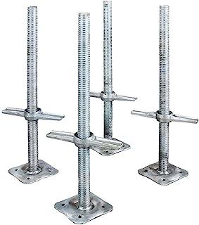 Best Metaltech Adjustable Leveling Jacks - 4-Pk. for Baker-Style Scaffolding, Model Number I-IBSJP12H4 Review