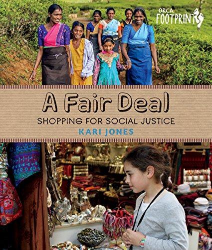 A Fair Deal: Shopping for Social Justice (Orca Footprints) (English Edition)