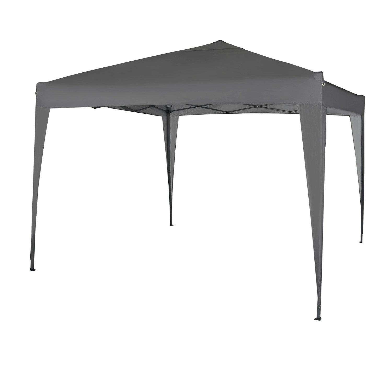 MCC® Gazebo Plegable Impermeable del Gazebo 3x3m, Tienda del pabellón con la Capa Protectora de Plata [NS] (Color Beige) (Gris): Amazon.es: Jardín