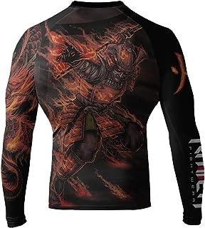 Raven Fightwear Men's Fire Element BJJ MMA Rash Guard