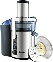 Breville Froojie Fountain Juicer - Bje520, Silver