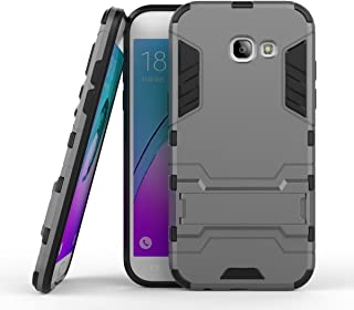 For Samsung Galaxy A5 2017 2 in 1 Iron Armour Tough Style Hybrid Dual Layer Armor Defender PC+TPU Protective Hard Case wit...