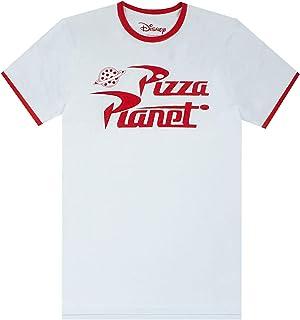Camiseta de Disney Pixar Toy Story Woody zumbido Pizza Planet Garra Hombres