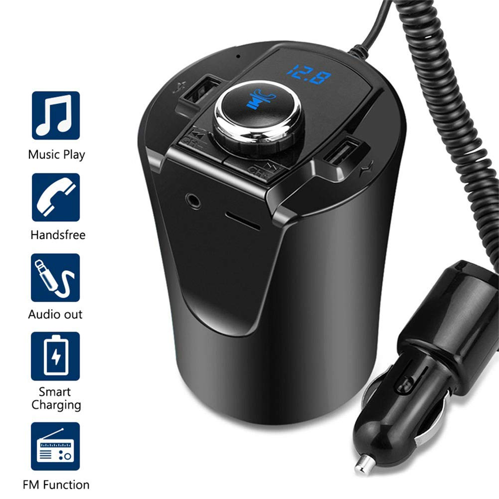 QKa Bluetooth Transmitter Charger Adapter