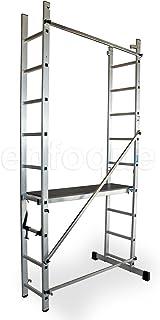ALTIPESA Escalera - andamio Profesional de Aluminio 2x9