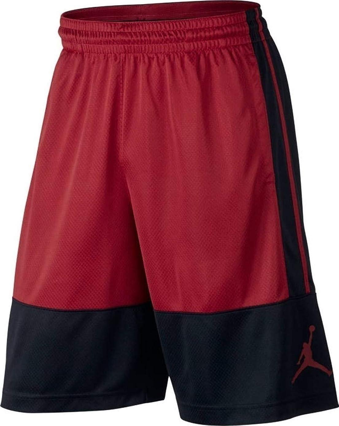 Nike Air Jordan Rise Red/Black Mens Basketball Shorts vokv2738698