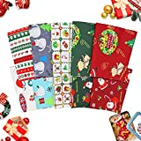 Souarts Weihnachten Muster Baumwollstoff Meterware Stoffe
