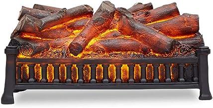 XIANWEI Llama Chimenea - Falso Simulación leña decoración/carbón carbón electrónica núcleo Chimenea, Longitud 510 * Gruesa 200 * 260 mm de Alto